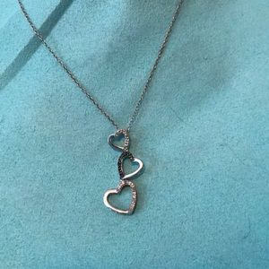 Jewelry - Kay 3 heart diamond necklace